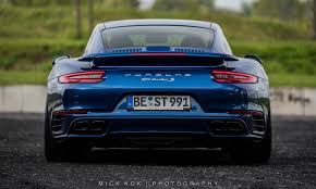 Porsche 911 Turbo S Lights Up The Night With Tuned Exhaust Flames