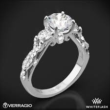 twisted shank engagement ring verragio twisted shank 3 engagement ring 1817