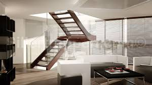 melbourne self supporting staircase glass and stainless steel open