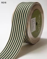 striped grosgrain ribbon 1 5 inch grosgrain ivory striped ribbon may arts wholesale ribbon