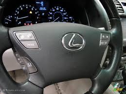 lexus ls 460 l 2008 2007 lexus ls 460 l light gray steering wheel photo 38992909