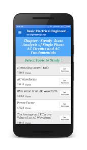 basic electrical engineering android apps on google play