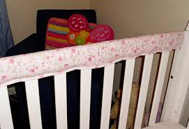 diy padded crib rail protectors childhood101