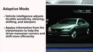 adaptive driving mode bmw genius how to youtube