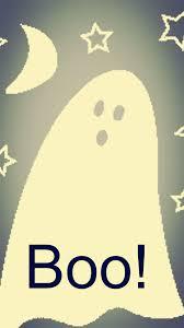 ghost boo iphone 6 plus wallpapers 2014 halloween moon star