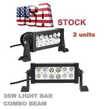 led light bar bundle led bundle package 24 light bar set of two 4 pods 36w led