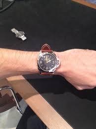 372 on a small wrist the panerai area rwg
