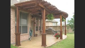 free standing wood patio cover plans archives lenassweethome