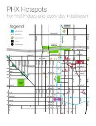 phx map friday walk and shuttle map