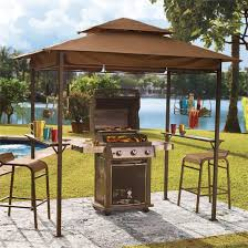 Sunjoy Industries Patio Heater by Amazon Com Brylanehome Grilling Gazebo Taupe Patio Lawn