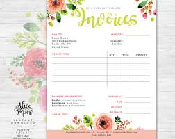 invoice template photography invoice receipt template for