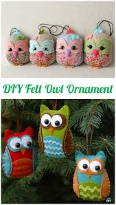 10 diy sew owl craft projects for home decoration