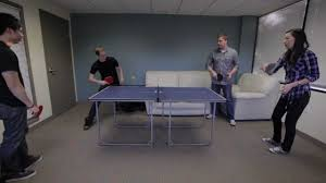 joola midsize table tennis table with net joola midsize table youtube