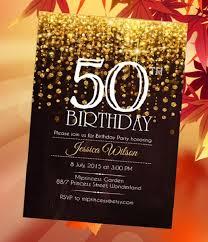 50th birthday invitations walmart invitation templates