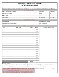 Catering Spreadsheet 13 Best Images Of Event Planning Budget Worksheet Vacation