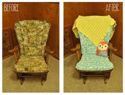 White Rocking Chair Cushion Rocking Chair Cushions Glider Rocking Chair Cushions Sherpa
