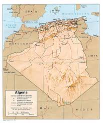 algeria map algeria maps perry castañeda map collection ut library
