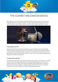 the scariest halloween movies