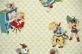 childrens vintage wallpaper wallpaperhdc com