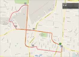 Map Route by Map A Running Route My Blog