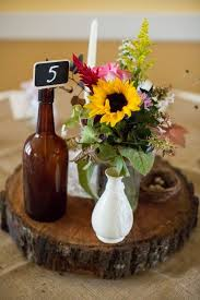Sunflower Wedding Centerpieces by 32 Best Sunflower And Hops Wedding Inspiration Images On Pinterest