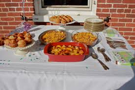 Baby Shower Outdoor Ideas - baby shower outdoor brunch bushel and a pickle
