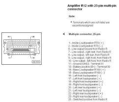 bose amp wiring diagram audi wiring diagrams instruction