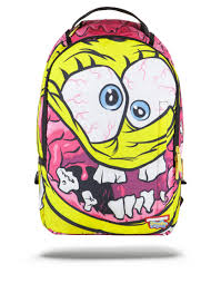 sprayground x spongebob crazypants backpack sprayground