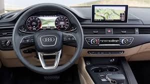 audi dashboard 2017 yes it u0027s really a new audi a4 autoweek