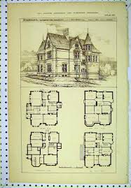antique home floor plans luxury vintage victorian house plans