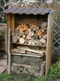 How To Build A Shed Against House by Make A Bee Hotel The Pollinator Garden