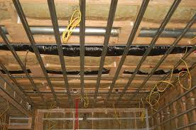 How To Finish A Basement Ceiling by Semi Soundproofing Basement Ceiling Gearslutz Pro Audio Community