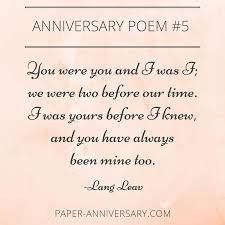 10 epic anniversary poems for him readers favorites