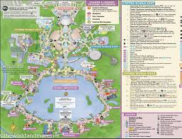 disney epcot map printable disney park maps the and more