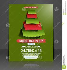 christmas party flyer royalty free stock image image 35618226