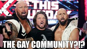 Gay Wrestling Meme - the gay community 07 professional wrestling know your meme