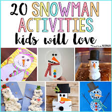 20 snowman activities for kids proud to be primary