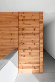 Pine Interior Walls Architecture Interior Private Residence In Dusseldorf By
