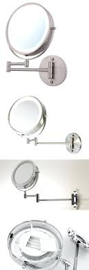 battery operated wall mounted lighted makeup mirror unbelievable lighted wall mirror battery operated mounted of makeup