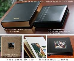 matted photo album traditional matted album à la carte albums