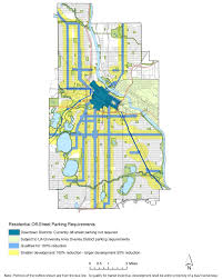 Chicago Street Parking Map by Minneapolis Proposes To Eliminate Minimum Parking Requirements