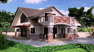 House With Floor Plan Bungalow House In The Philippines With Floor Plans Youtube