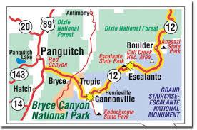 bryce map pdf bryce national park climate geography map desertusa