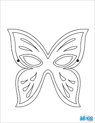 coloring pages halloween masks mask coloring pages masks and masquerade hellokids com