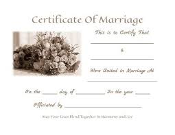wedding certificate templates free printable 11 best marriage
