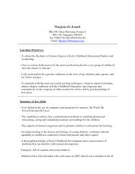 Childcare Cover Letter Example Sample Of Cover Letter Child Care