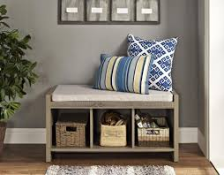 bench enchanting small storage bench for hallway compelling hall