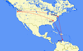 Spirit Airlines Route Map by Portland To Aruba 335 Same Day Turn Or Vacation Mileage Run
