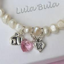 birthday charm bracelet big 60th birthday freshwater pearl charm bracelet
