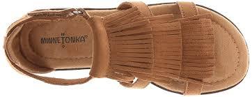 amazon com minnetonka maya dress sandal little kid big kid